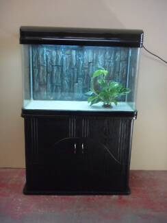 Aquarium 2.8ft Fish Tank BrandNew Cabinet,hood with light, filter Blacktown Blacktown Area Preview