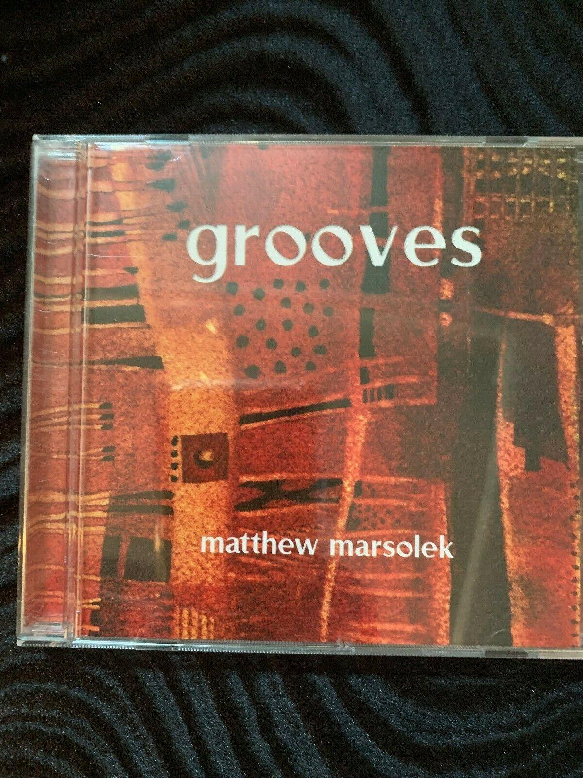 Matthew Marsolek - Grooves - CD - $7.95