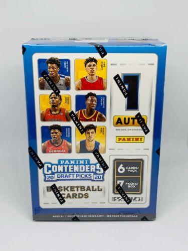 2020-21 Panini Contenders Draft Picks Basketball Blaster Box Brand New Sealed