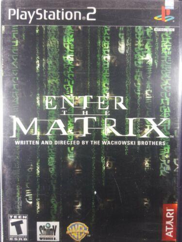 Enter The Matrix Sony PlayStation 2, 2003  - $6.33