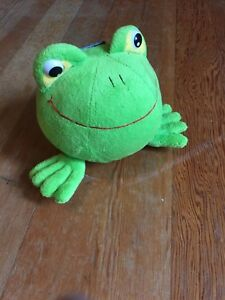 Plush Frog Piggy Bank