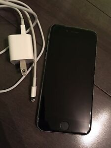 iPhone 6 good condition with fido 16gb comes with charger!!