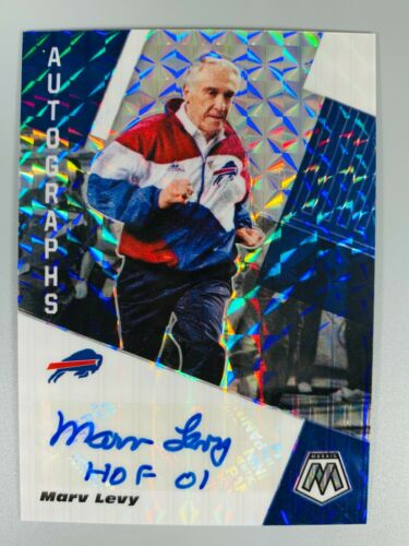 Marv Levy Signed Autographed Buffalo Bills 8x10 inch Photo Hall of Famer