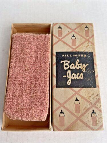 Vintage Killinger Baby-Jacs Baby Bottle Cloth Covers Original Box