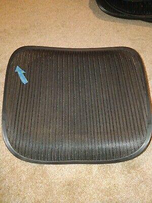 Herman Miller Aeron Chair Seat Mesh Black Pellicle With Blemish Size C Large 94