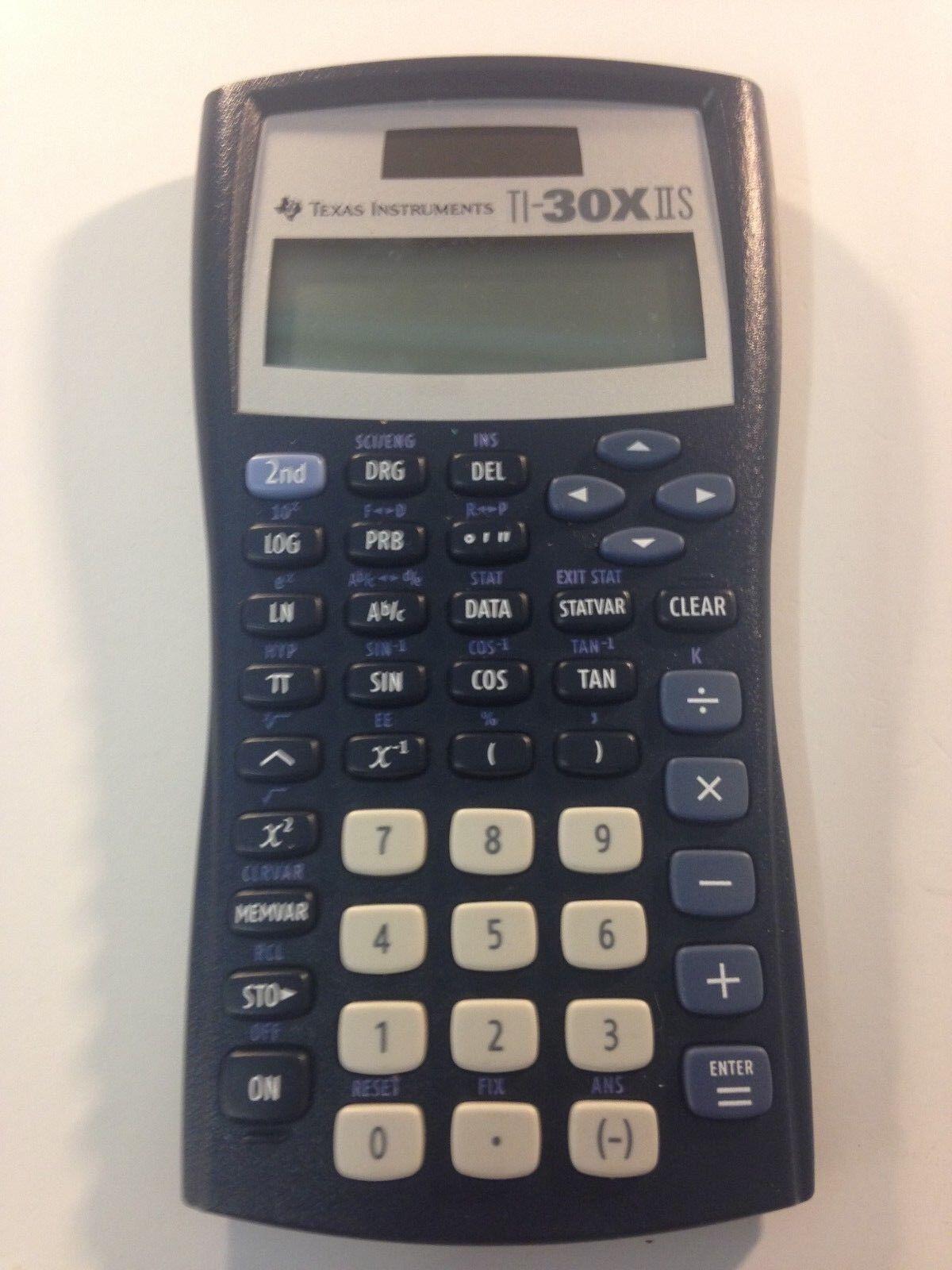 Texas Instruments TI-30X IIS Scientific Calculator, 2 Line Display NO Cover
