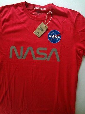 Top Angebot! ~ ALPHA INDUSTRIES T-Shirt *NASA* ~ Size XL ~ NEU! ()