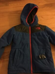 Boys Toddler 4T North Face Reversible jacket