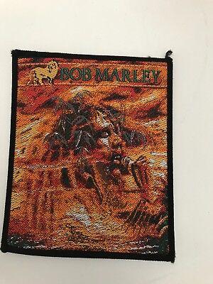 BOB MARLEY PATCH original 80er, 9x11cmAufnäher Reggae Ziggy Marley Bob Patch