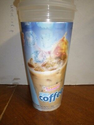 Dunkin Donuts 99 cent Iced Coffee travel mug cup 2013