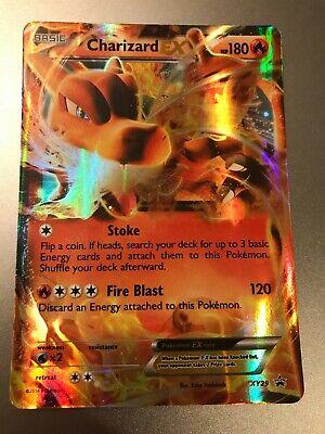Charizard EX Holo Pokemon Card XY Black Star Promo XY29