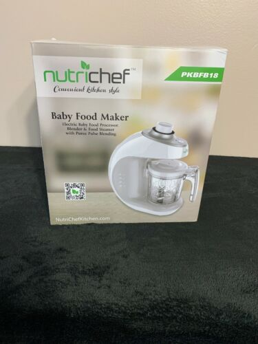 NutriChef Heavy Duty Food Processor and Immersion Blender, S