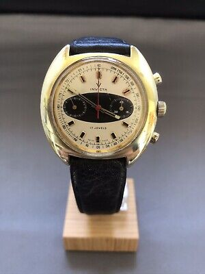Vintage  men's Invicta Surfboard Dial chronograph watch