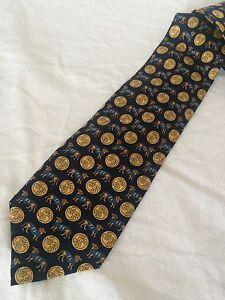 FENDI-Cravatte-cravatta-tie-100-seta-silk-original-Made-in-Italy-nuova-new