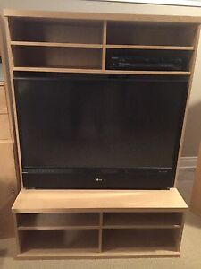 Ikea Bonde TV unit + LG Rear prijection LCD TV