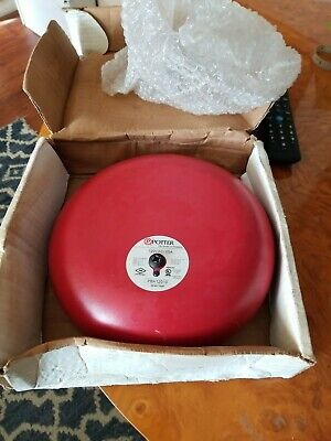 Potter Alarm Bell Pba-12010 120vac 10 Inch Pn 1810120 By1