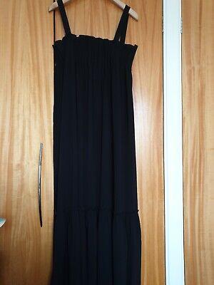 Holzweiler Fru Steen Solid Long Dress Black Size Medium