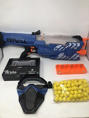 NERF Gun - RIVAL NEMESIS MXVII-10K - Rechargeable Battery Mask 100 Ammo Rounds