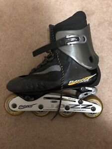 Rollerblades SPIN size USA10 / EURO 9 good condition