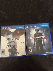 Selling two PS4 games