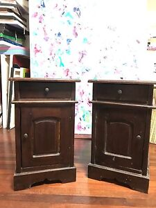 Bedside tables Beaconsfield Fremantle Area Preview