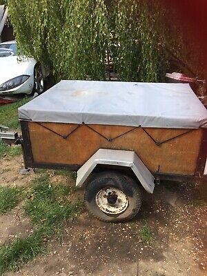 Used Car Box Trailer