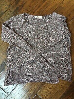 Hollister Women's Top Knit Sweater Size XS/S Wine