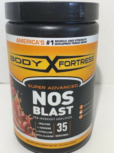 Body Fortress NOS Blast Pre Workout Amplifier Health Persona