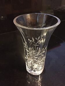 Vera Wang Wedgewood Leaf Crystal Vase - never been used Waverley Eastern Suburbs Preview