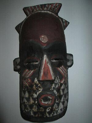 alte geschnitze Holzmaske (Afrika?) Sammlerstück