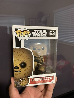 Funko Pop! Star Wars The Force Awakens Chewbacca # 63 Vinyl Figure