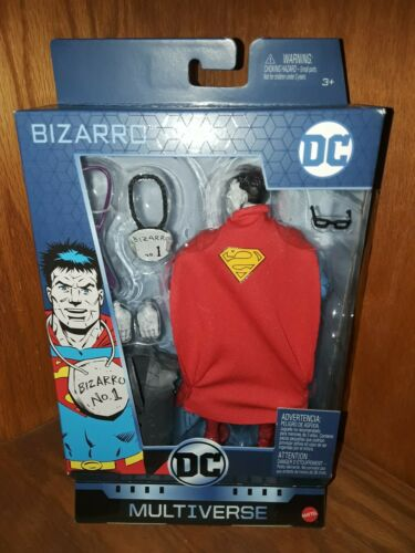 DC Multiverse Mattel BIZARRO SUPERMAN Walgreens Exclusive Ac