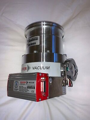 Pfeiffer Tmh 262 X S Turbomolecular Vacuum Pump