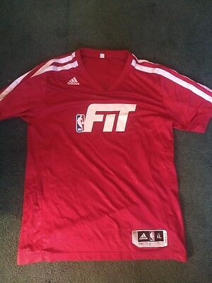 c4b506692 NBA Fit Adidas Basketball Jersey Possibly Game Worn or Game Used 2014