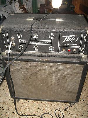 Bass amp head 300W Series 200 Peavey CENTURY 120v 60hz & (300w Bass)