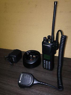 Police Fire Motorola Xts3000 3 Vhf P25 Digital Narrowband Radio Wprogramming