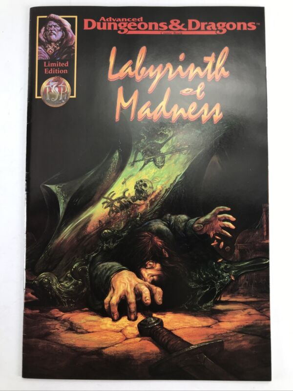 Labyrinth Of Madness Limited Edition Advanced Dungeon And Dragons VF