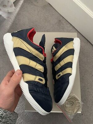 Adidas Predator Accelerator TR ZIDANE ZZ Blue Gold 9uK Soccer Football