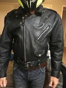 Motorcycle leather jacket  motorbike Highland Park Gold Coast City Preview