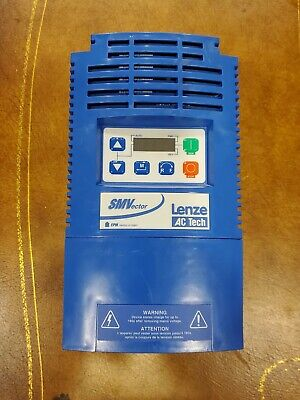 Lenze Ac Tech 7.5hp 5.5kw 23a Esv552n02txb Smvector Variable Frequency Drive Vfd