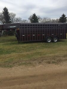 New 20 ft Titan GN Stock Trailer