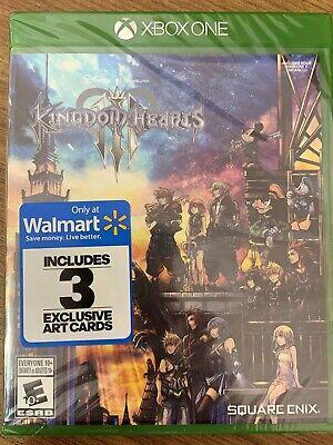 NEW XBox One Kingdom Hearts III 3 SEALED Complete Canada Microsoft