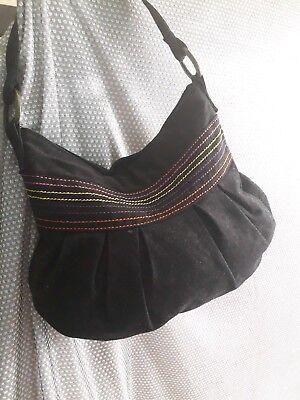 Ladies black shoulder bag