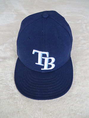 outlet store 6c429 7c485 TAMPA BAY RAYSNEW ERA 59FIFTY FITTED MLB ONFIELD HAT CAP - 7 5 8