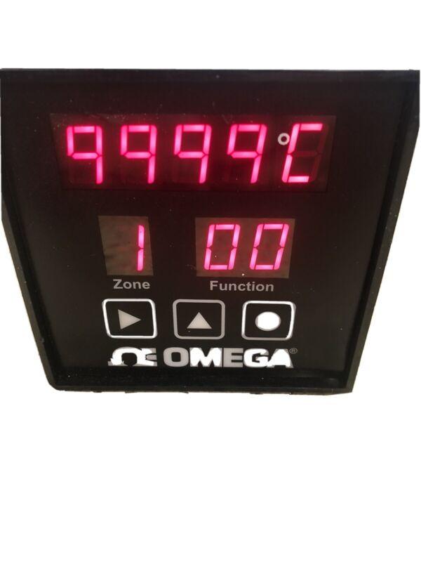 CN616TC1, OMEGA, Six Zone Thermocouple Temperature Controller Lot Of 2