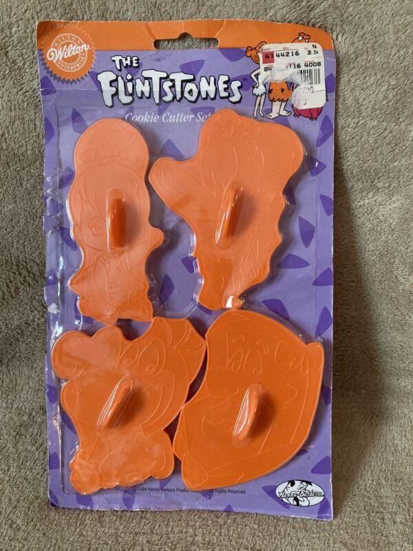 Wilton The Flintstones Cookie Cutter Set NEW IN PACKAGE