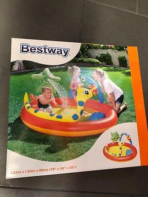 Bestway - Planschbecken - Play Center - 193cm x 150cm x 89cm