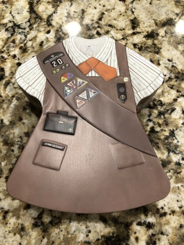 2020 GIRL SCOUT TIN BROWNIE UNIFORM ~Tin only