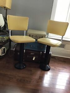 Original Woolworth Diner Swivel Counter Stools