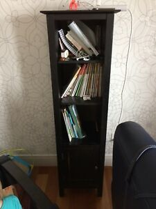 Tall cabinet bookcase